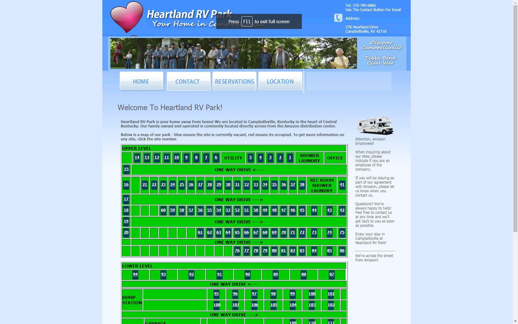 heartland RV park